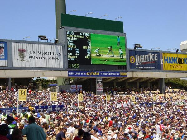 sydney cricket ground 2003
