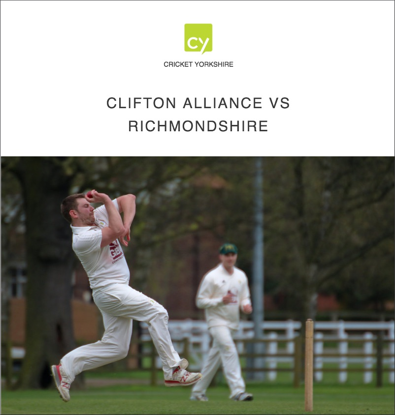 Cricket Yorkshire Photos: Clifton Alliance vs Richmondshire