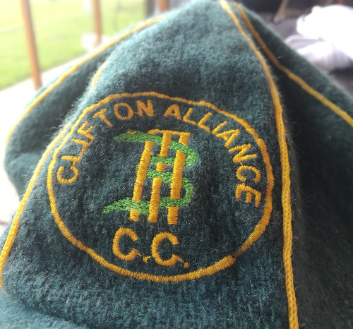 Clifton Alliance Cricket Club cap