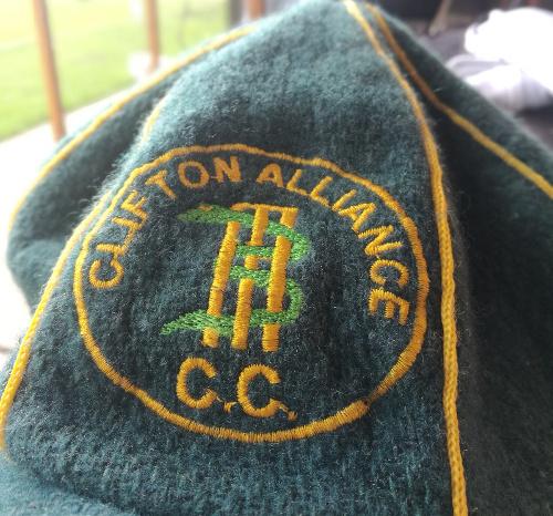 Clifton Alliance Cricket Club cap