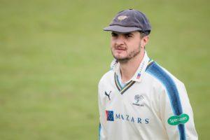 Yorkshire CCC bowler Jack Brooks talks to Cricket Yorkshire