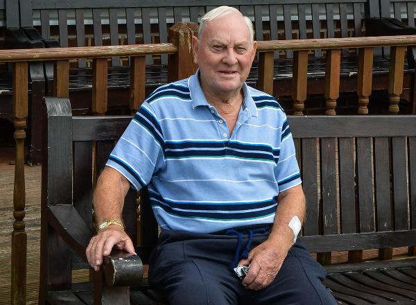 Farsley Cricket Club President Ray llingworth