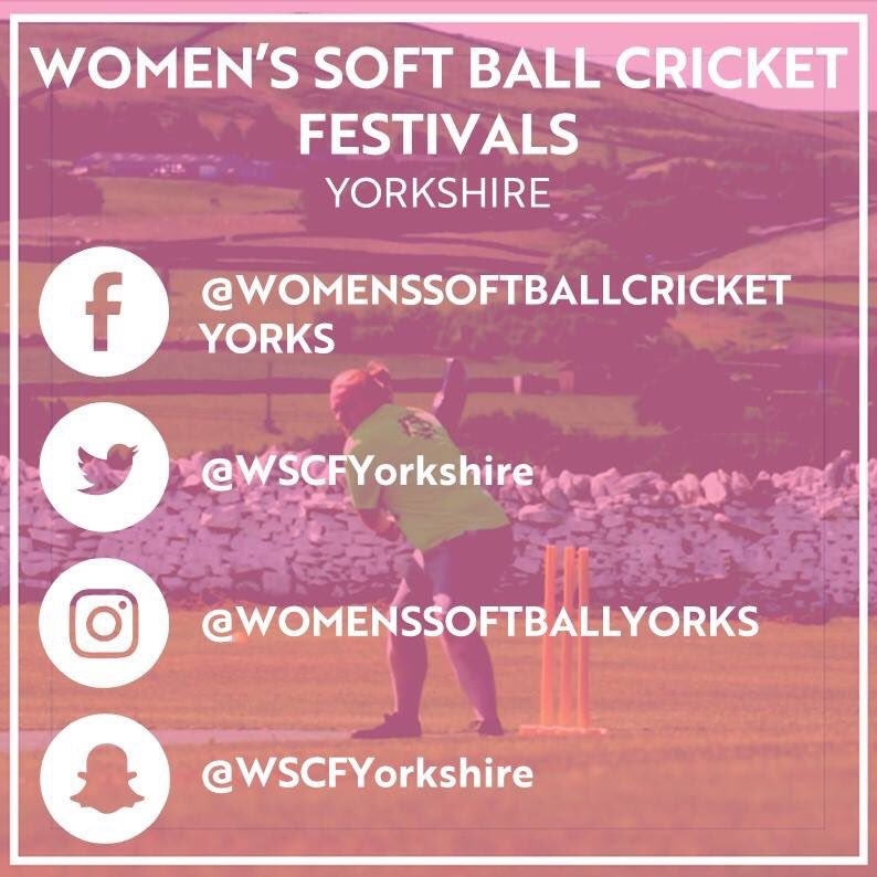 Women's soft ball cricket festivals in Yorkshire