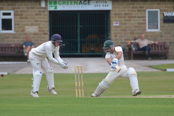 swing and miss from Haslingden in the Lancashire League against Todmorden