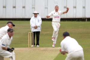 Rob Kettlewell wicket for Yorks Over 60s