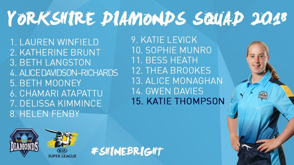 yorkshire diamonds squad