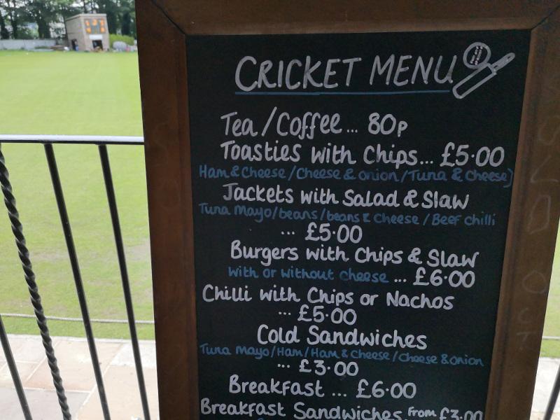 New Farnley Cricket cafe