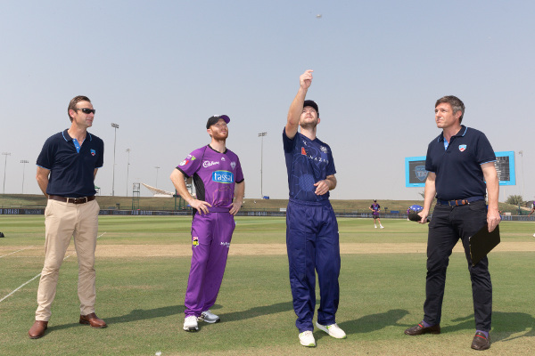 Yorkshire Vikings vs Hobart coin toss