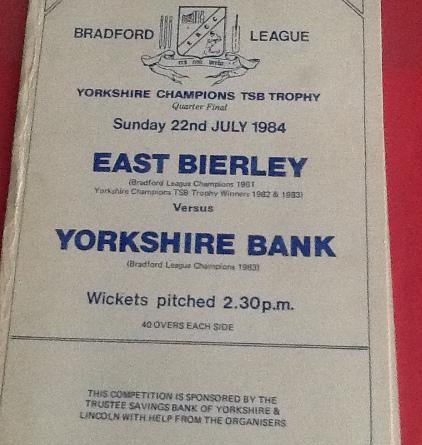east bierley cricket club