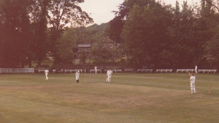 Highbury cricket in Meanwood