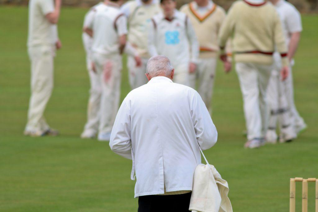 cricket umpire in club cricket
