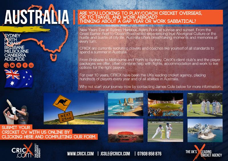 CricX - Australia