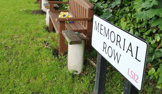 memorial row new farnley