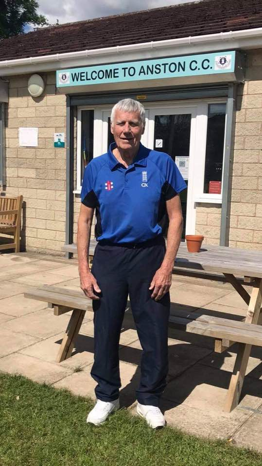 Alan Vollans Anston Cricket Club