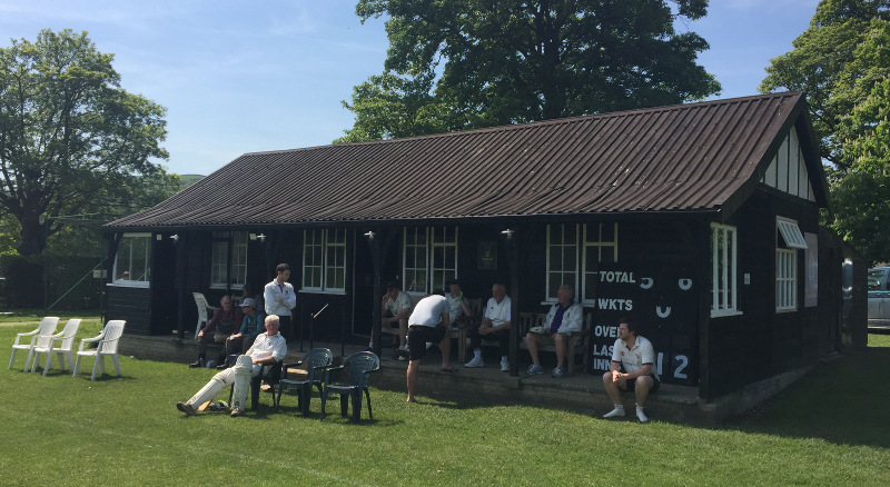 Bolton Abbey Cricket pavilion