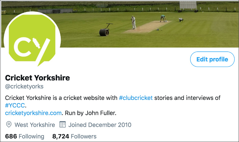 Cricket Yorkshire @cricketyorks