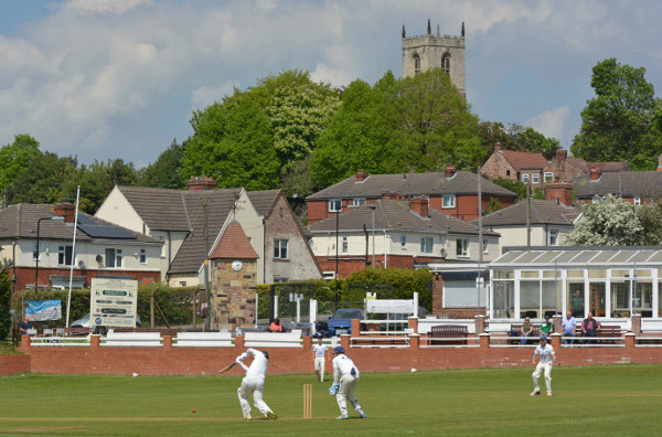 Treeton and South Kirkby Colliery do battle in the 2019 Heavy Woollen Cup