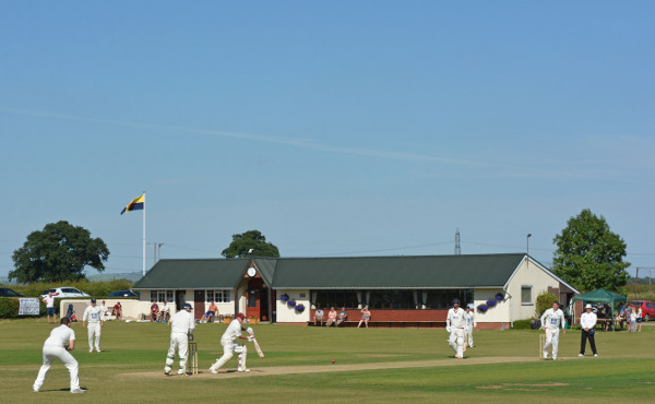 Woodhouse Grange and Doncaster Town, in action during the 2018 ECB National Club Championship