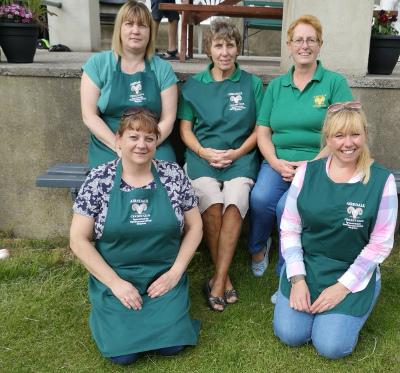 airedale cricket tea ladies