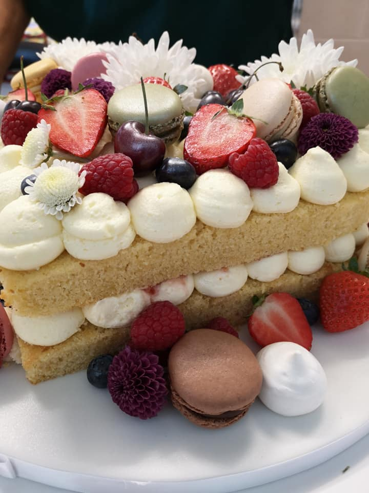 cricket tea: amazing cake at airedale cricket club