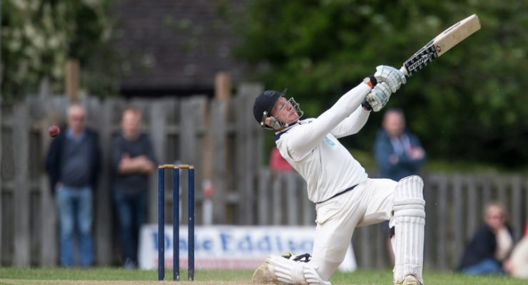 Aire Wharfe Cricket Burley vs Otley batsman