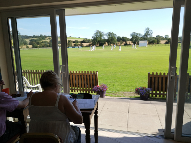 scorer at Pannal cricket club