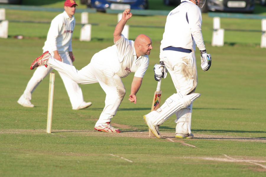 Chris Brice Woodlands cricket club