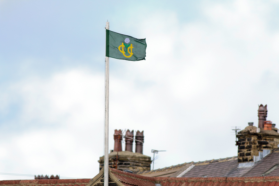 undercliffe cricket club flag