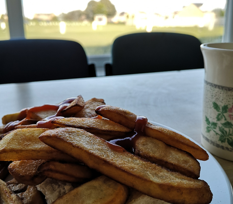 chips at undercliffe cricket club