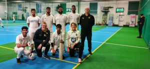 deaf cricket indoors
