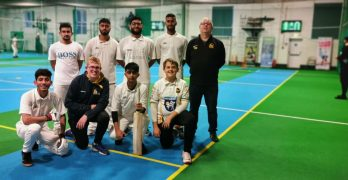 deaf cricket indoors