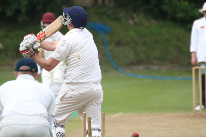 cricketer is dismissed