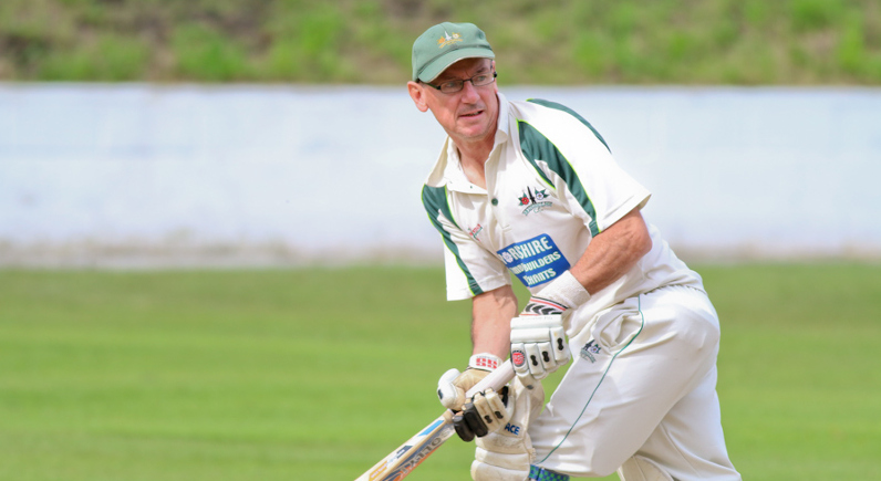 keith hudson groundsman Bridgeholme Cricket Club