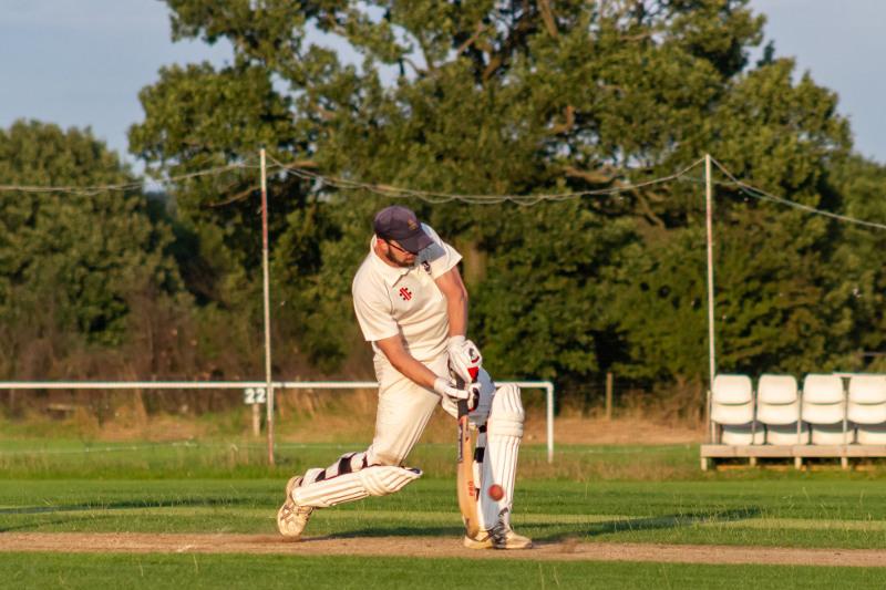 Cricket Yorkshire - Forty Club batsman