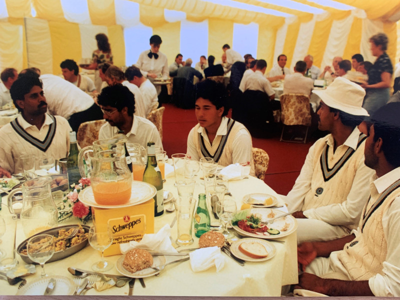 Sachin Tendulkar - 1990 Scarborough Festival - SCC Credit