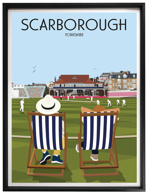 Scarborough Cricket Club Poster