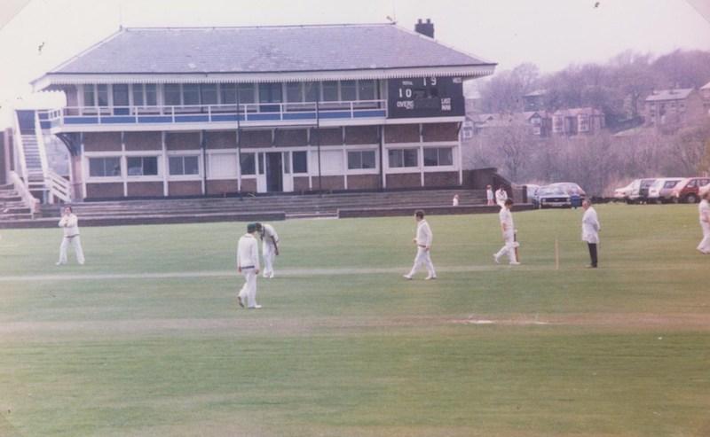 Dewsbury play cricket at Savile Town (BS)