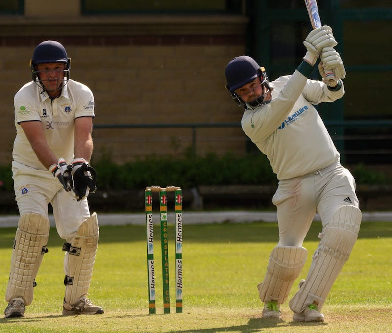 crossflatts cricket club action
