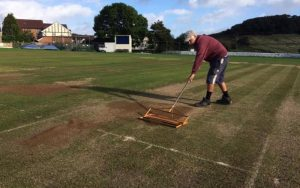 cricket groundsmen