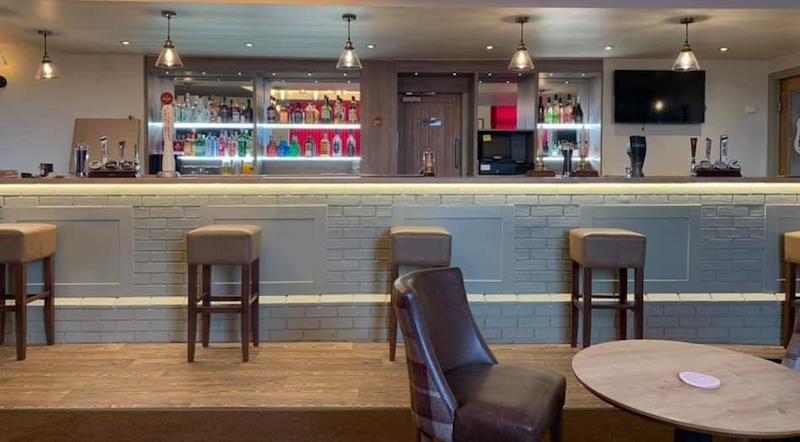 morley cricket club bar refurb