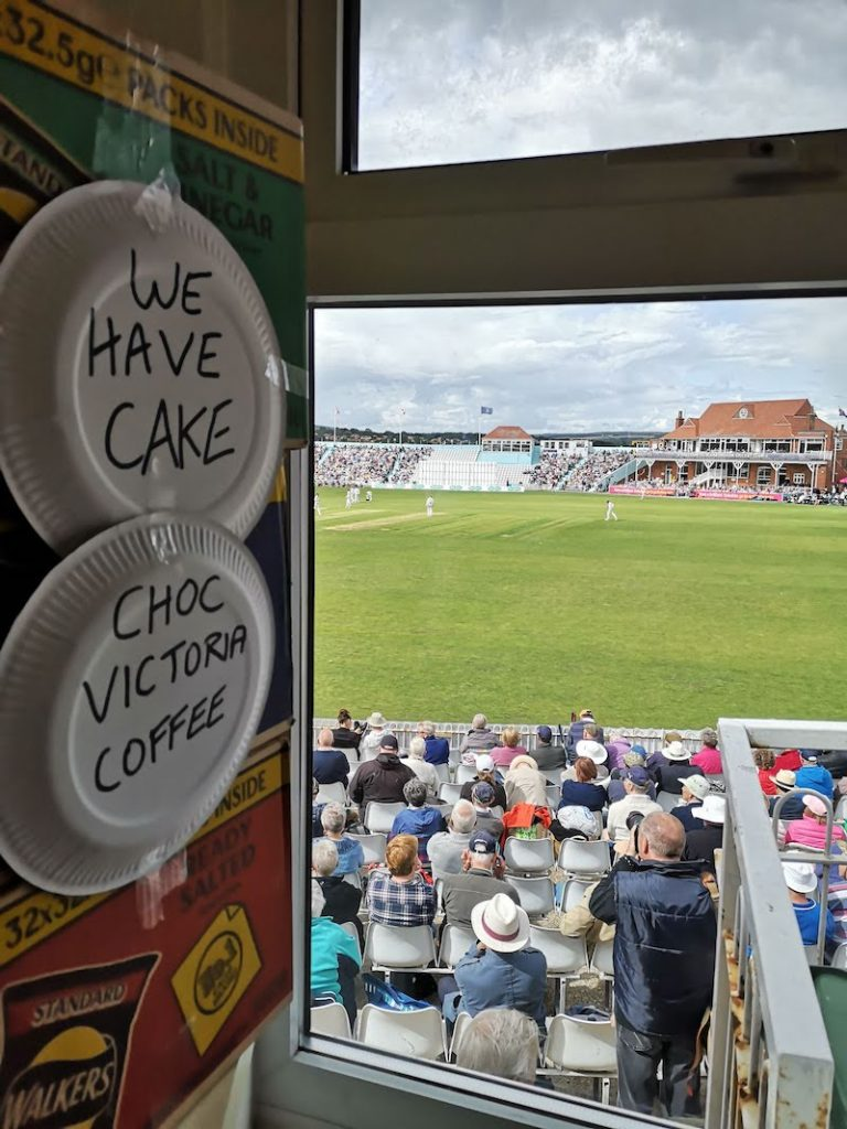 scarborough cricket club tea room