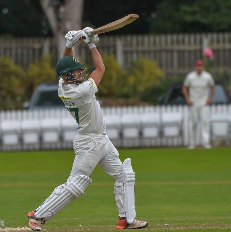 Bradford League cricket - Alex Lilley bats - Ray Spencer - CY