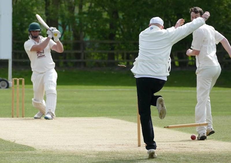 Cricket Umpire Keith Pepper