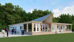 Olicanian Cricket Club Pavilion