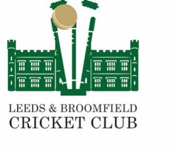 best club cricket badge - leeds and broomfield CC
