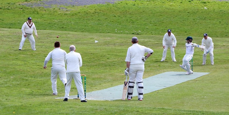 Flicx artificial cricket pitch at Bute