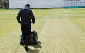 SISGrass hybrid cricket pitch at Kirkstall Educational