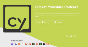 Cricket Yorkshire Podcast