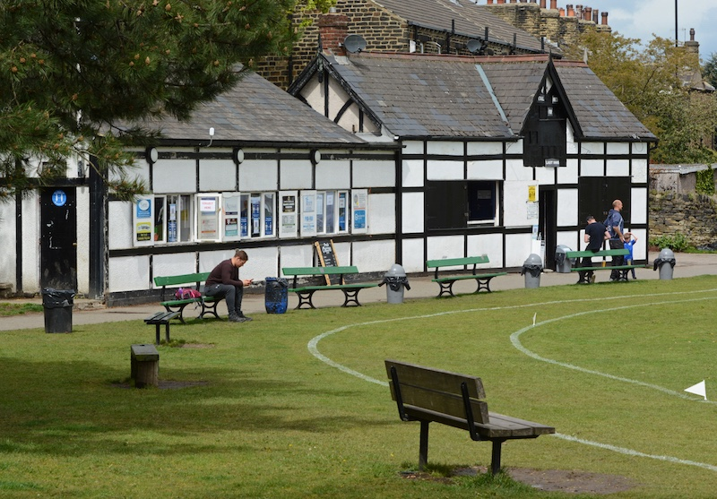Calverley St Wilifrid's cricket clubhouse