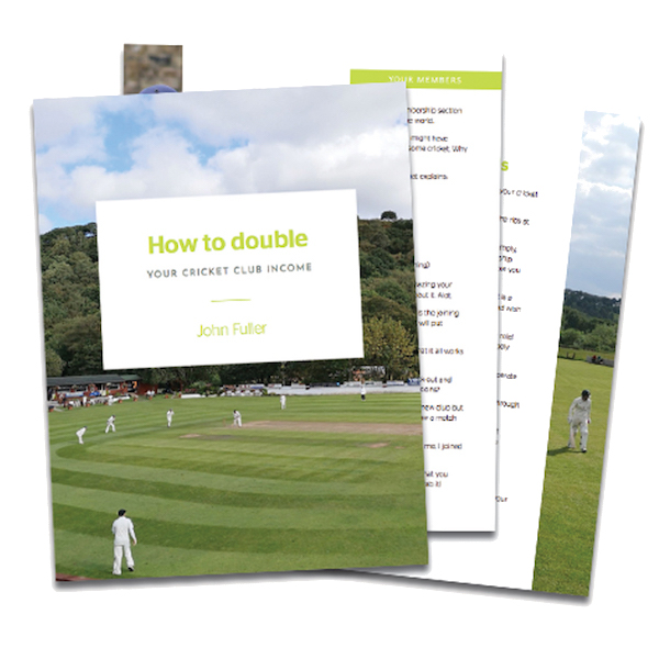 Double Your Cricket Club Income Free Guide